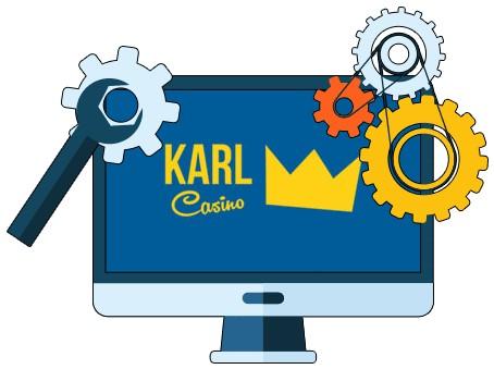 Karl Casino - Software
