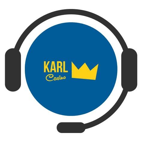 Karl Casino - Support