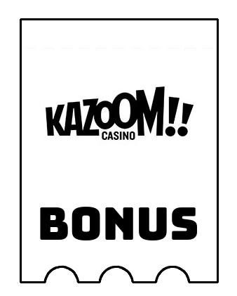 Latest bonus spins from Kazoom
