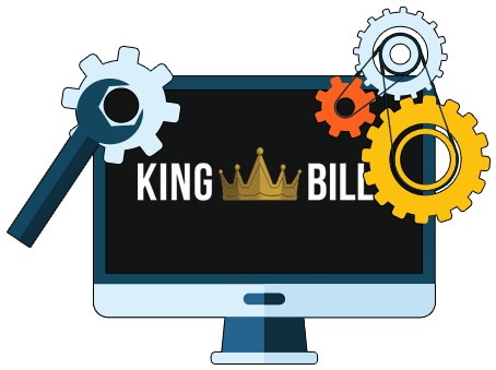 King Billy Casino - Software