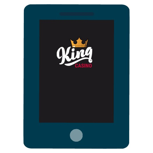 King Casino - Mobile friendly