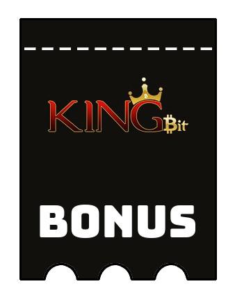 Latest bonus spins from Kingbit