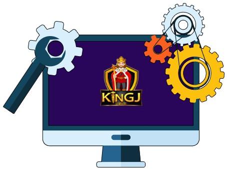 KingJCasino - Software