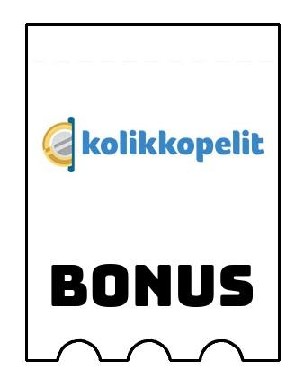 Latest bonus spins from Kolikkopelit