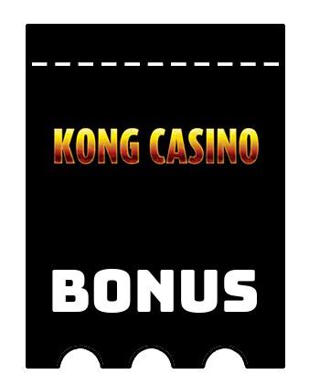 Latest bonus spins from Kong Casino