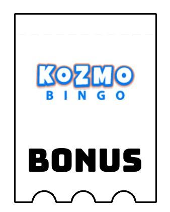 Latest bonus spins from Kozmo Bingo Casino