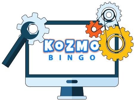 Kozmo Bingo Casino - Software