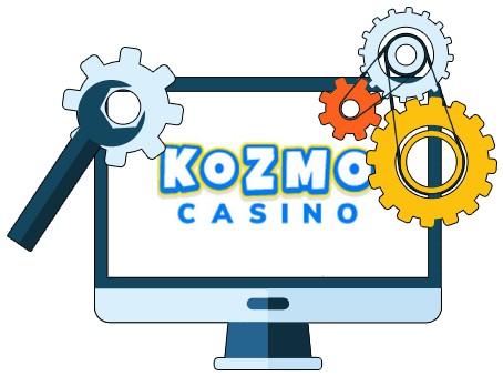 Kozmo Casino - Software