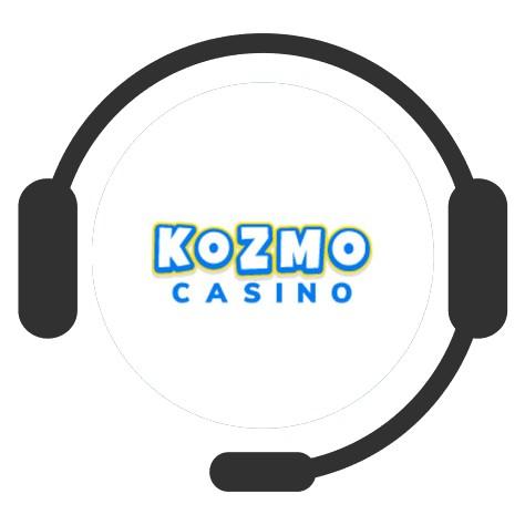 Kozmo Casino - Support