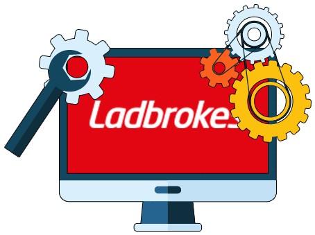 Ladbrokes Casino - Software
