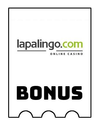 Latest bonus spins from Lapalingo Casino