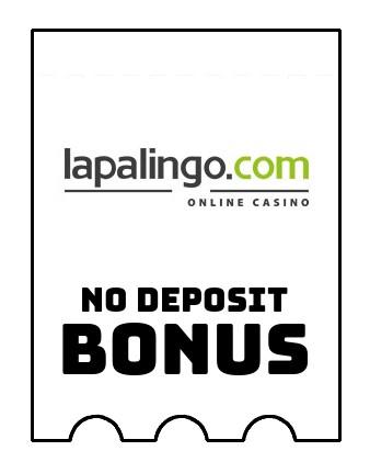 Lapalingo Casino - no deposit bonus CR