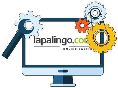 Lapalingo Casino - Software