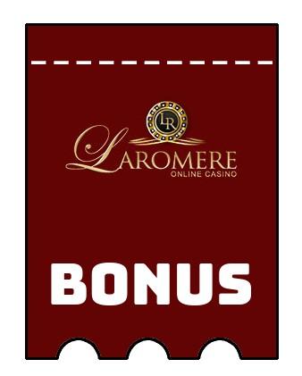 Latest bonus spins from LaRomere Casino