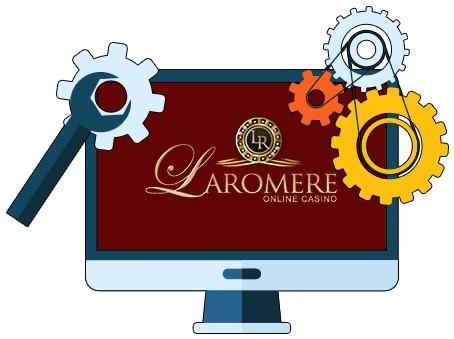 LaRomere Casino - Software