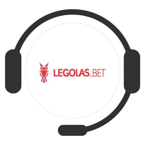 Legolas Casino - Support