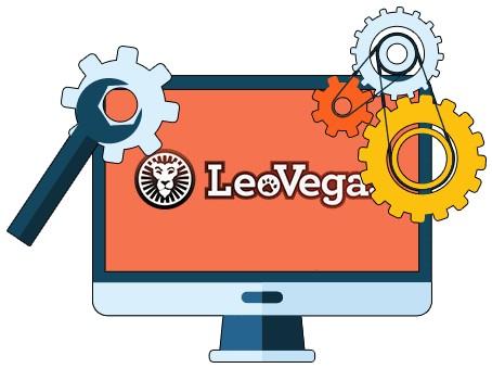 LeoVegas Casino - Software