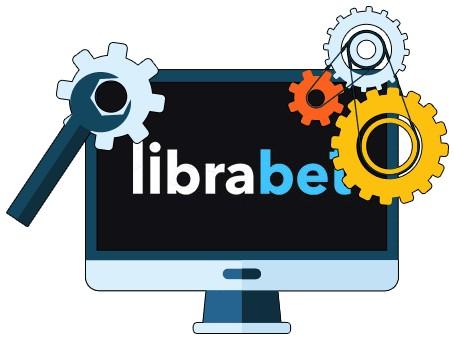 LibraBet Casino - Software