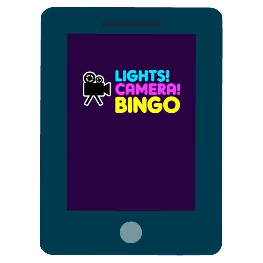 Lights Camera Bingo - Mobile friendly