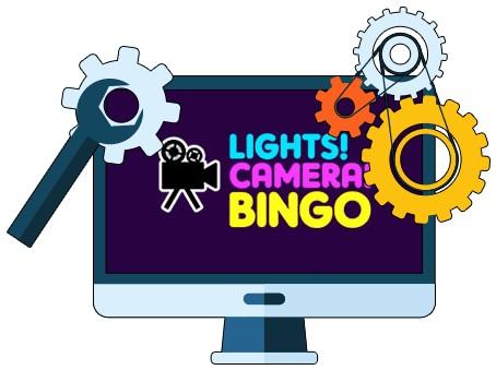 Lights Camera Bingo - Software
