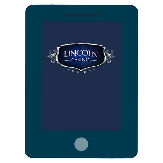 Lincoln Casino - Mobile friendly