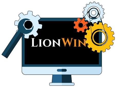 Lion Wins Casino - Software