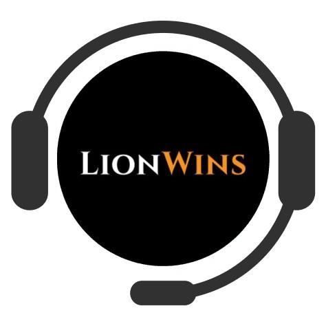 Lion Wins Casino - Support