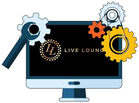 Live Lounge Casino - Software