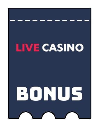 Latest bonus spins from LiveCasino