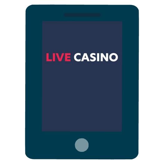 LiveCasino - Mobile friendly