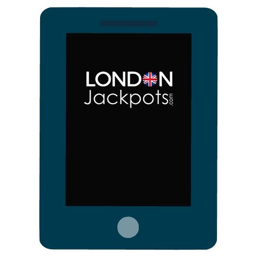 London Jackpots Casino - Mobile friendly
