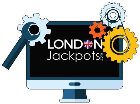 London Jackpots Casino - Software