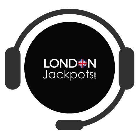 London Jackpots Casino - Support
