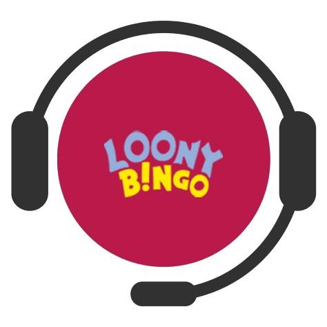 Loony Bingo - Support
