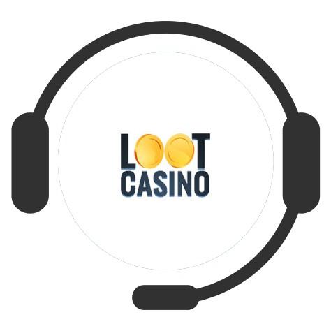 Loot Casino - Support