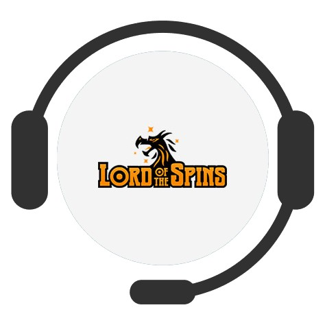 Lord of the Spins Casino - Support