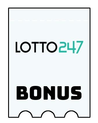 Latest bonus spins from Lotto247 Casino