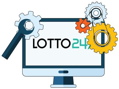 Lotto247 Casino - Software