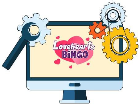 Love Hearts Bingo - Software