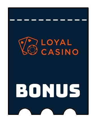 Latest bonus spins from Loyal Casino