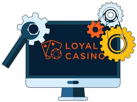 Loyal Casino - Software