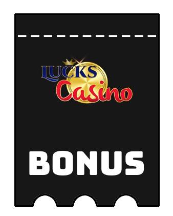 Latest bonus spins from Lucks Casino