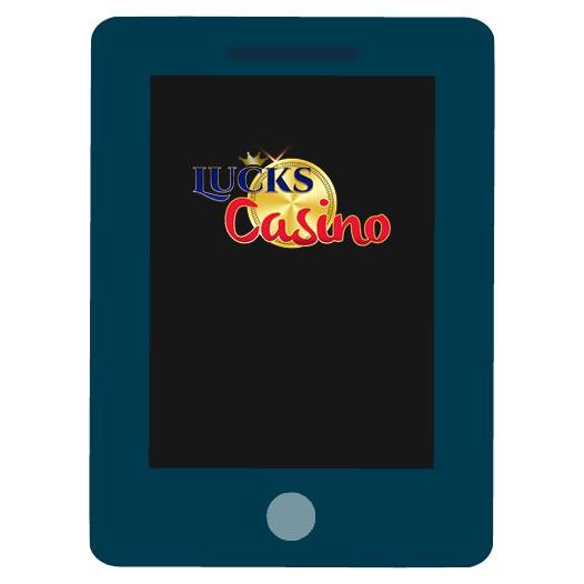 Lucks Casino - Mobile friendly