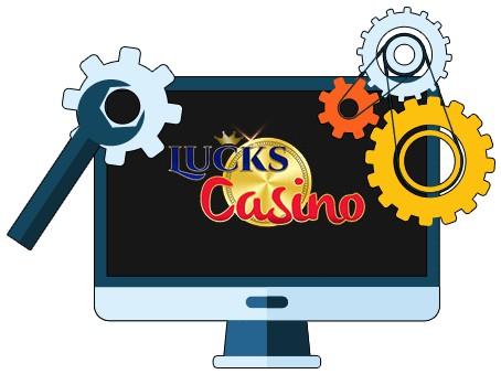 Lucks Casino - Software