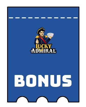 Latest bonus spins from Lucky Admiral