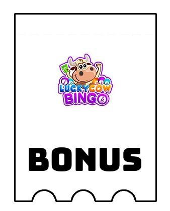Latest bonus spins from Lucky Cow Bingo