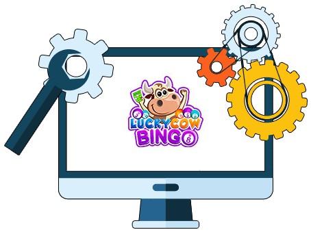 Lucky Cow Bingo - Software