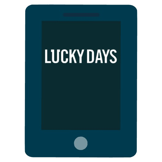 Lucky Days Casino - Mobile friendly