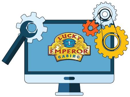 Lucky Emperor Casino - Software