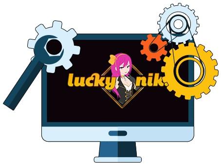 Lucky Niki Casino - Software